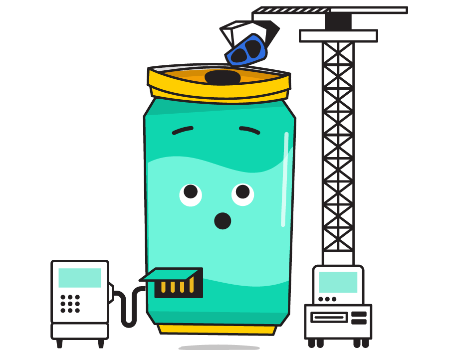 Fizzybot recharging battery