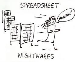 Running away from spreadsheet monster