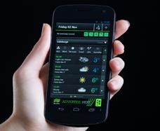 The Met Office Weather App