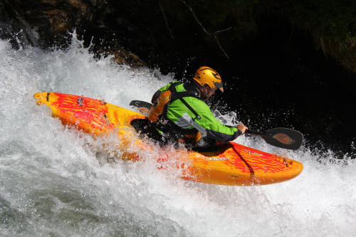 Palm equipment products used in whitewater rafting