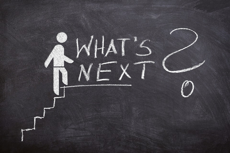 Business, The Next Step, Next, Success, Stairs, Board
