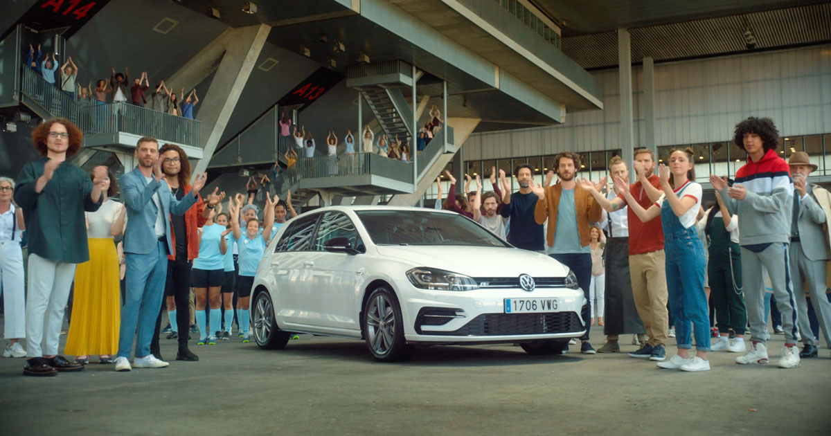 Creative art direction at DDB. It is an insight a lot of car dealers use the Golf as an example to say their cars are likewise but cheaper. A good deal right? It is not, we know Like a Golf is not a Golf. Production company: Garlic