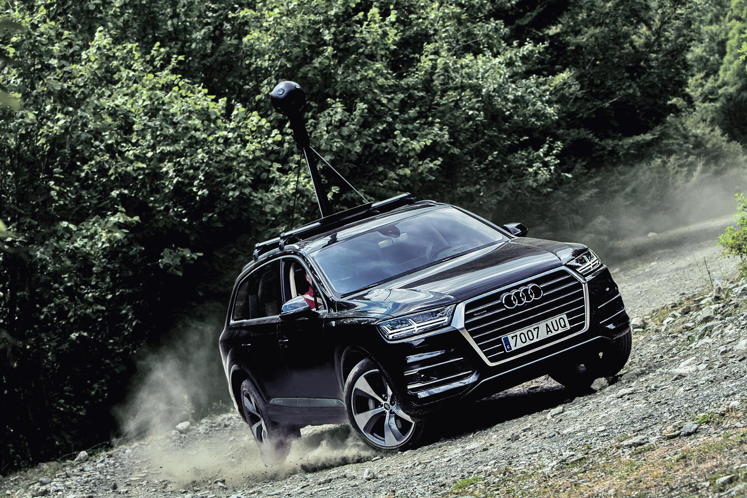 Creative art direction at Doubleyou. Audi was launching the brand new Q7 and we showed all its power by making interactive maps in places where Google cars couldn't reach. This was the film. Production company: Harold Entertainment.