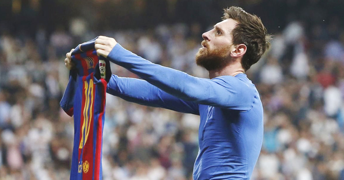 Creative art direction at Doubleyou. Messi, the best soccer player in history, scored his 500 goals with FC Barcelona. We celebrated it by remembering his first official goal with Barcelona. A goal, he had to score twice to be his first.