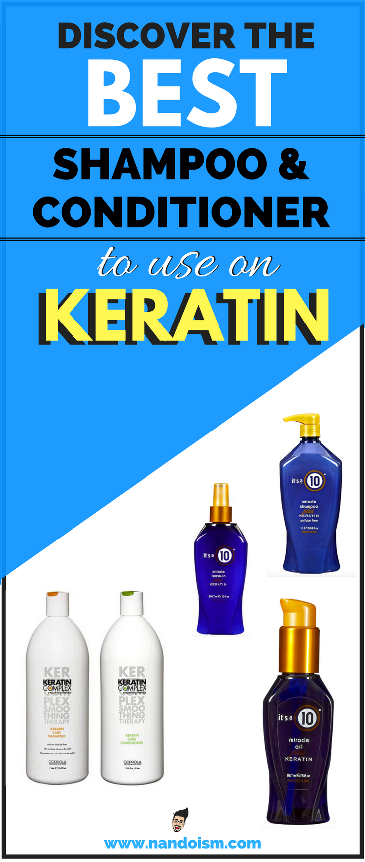 Best Keratin Hair Products - It's a 10 Miracle Shampoo