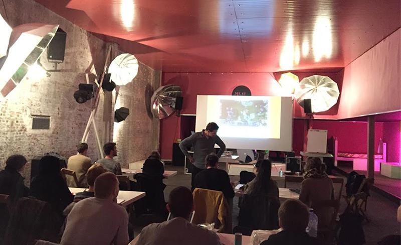 Eventsure Academy workshop in Meatpack