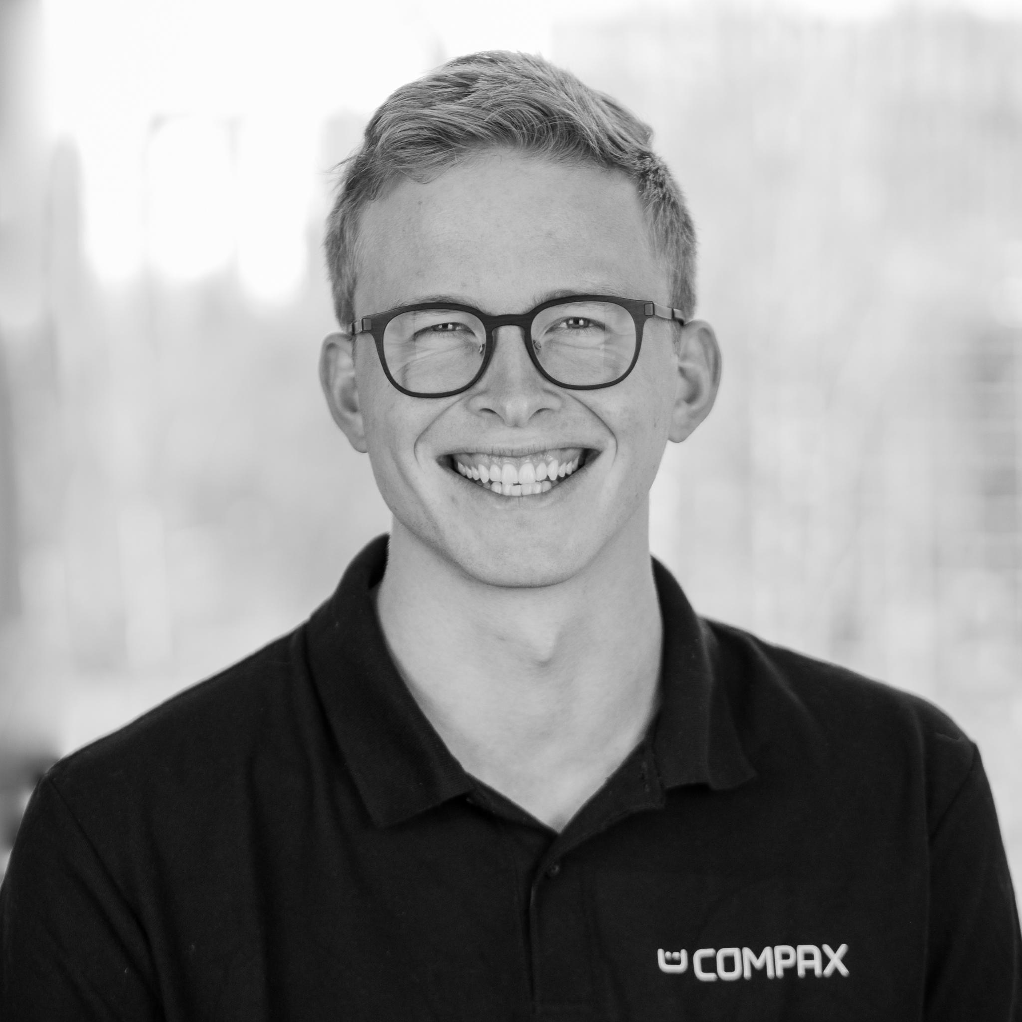 Per Øyvind Valen at Compax Solutions