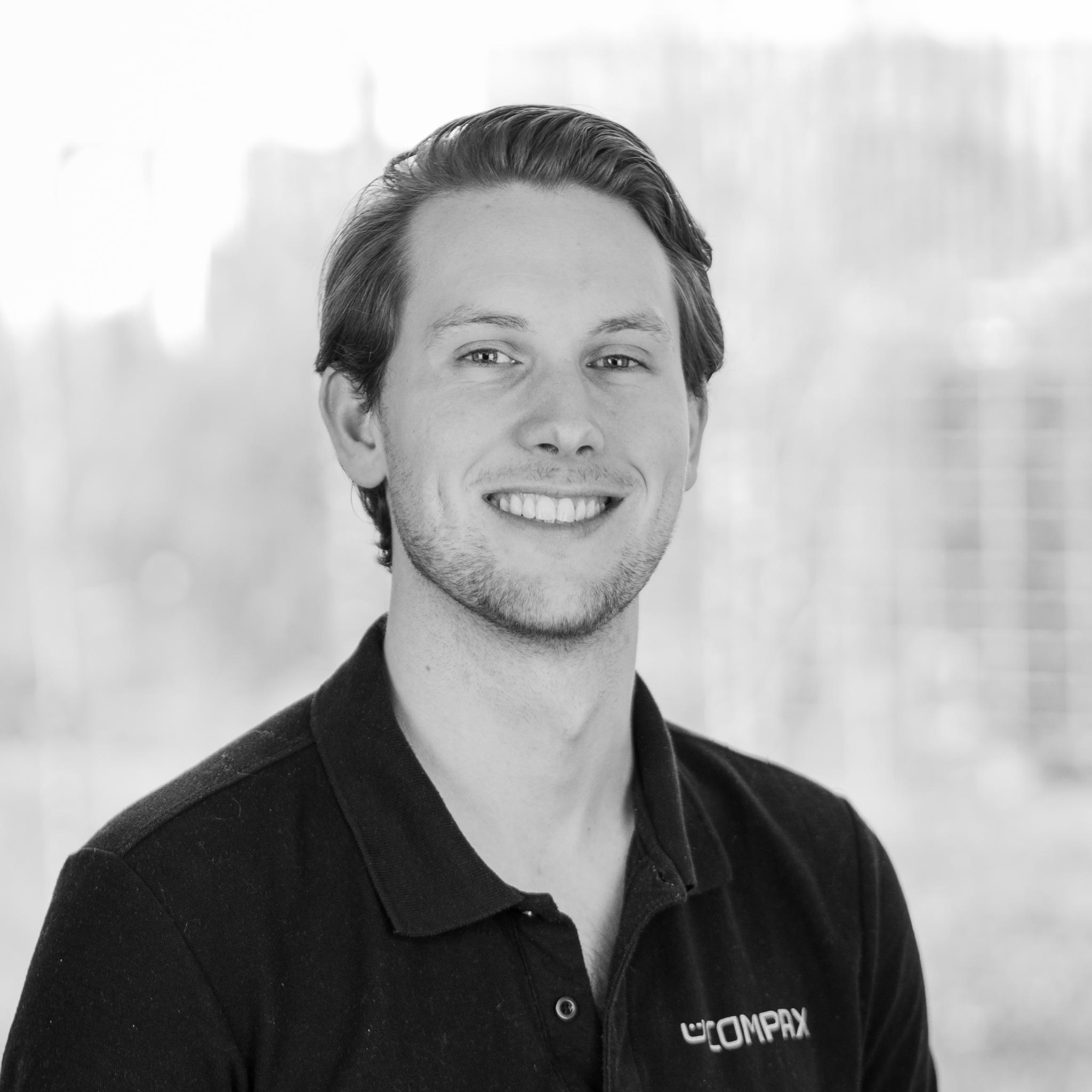 Jonas Fossnes Blekastad at Compax Solutions