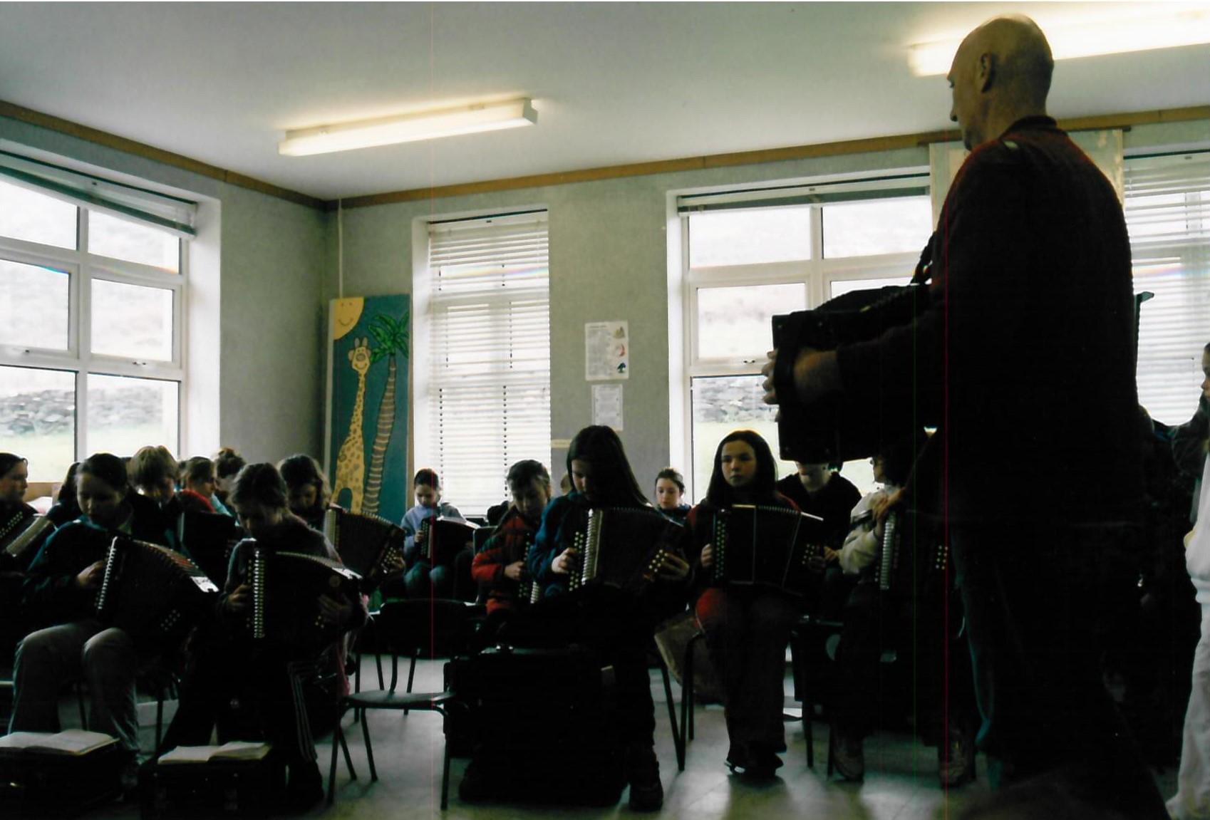 Rang Bhreanndáin faoi lán tseoil 2005