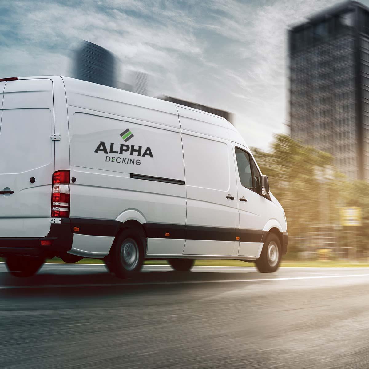Alpha Decking Delivery