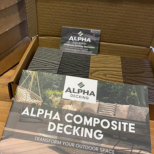 Alpha Composite Decking Sample Box
