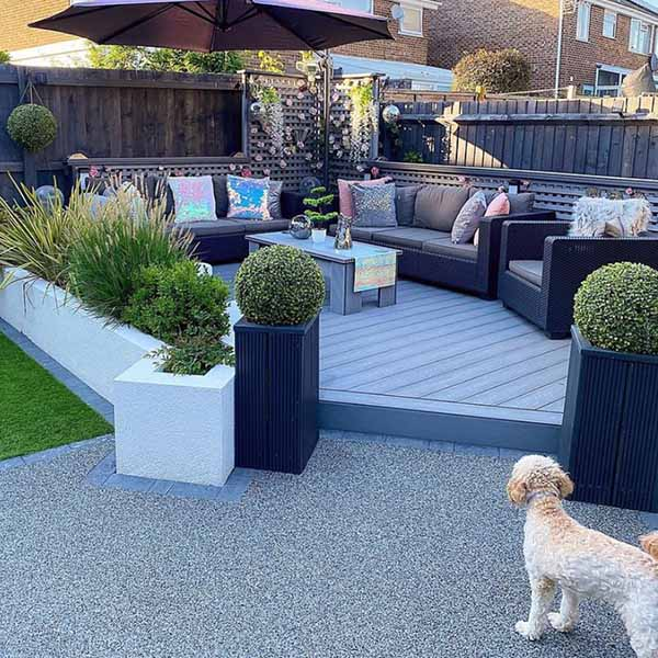 It's important to note that although composite decking may not need much maintenance, it will need cleaning.