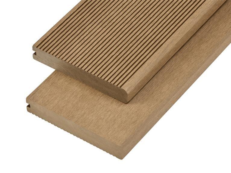 3.66m Solid Commercial Grade Bullnose Composite Decking (12ft)