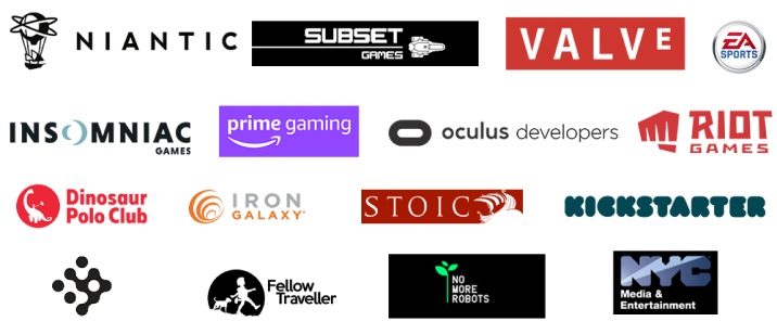 Some of the 2020 Sponsors