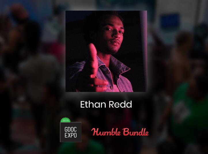 Ethan Redd's Humble Bundle Game Creator of Color award