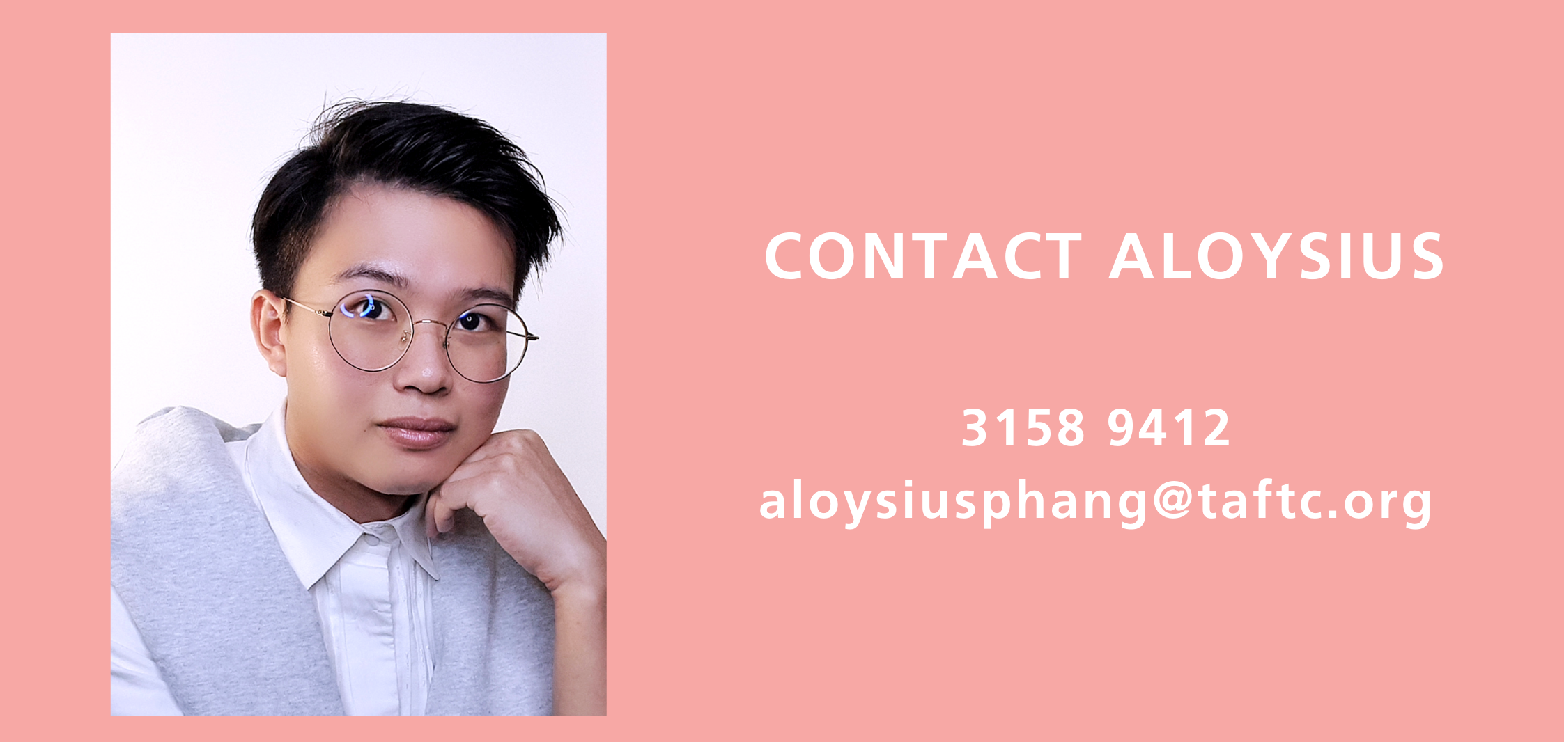 Contact Aloysius from Textile and Fashion Industry Training Centre (TaF.tc)