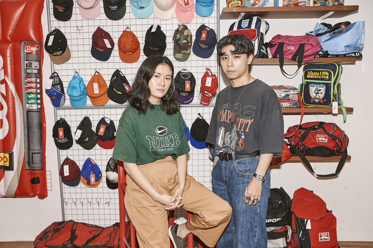 LOOP GARMS' founders: FJ Sai and Isaac Ang