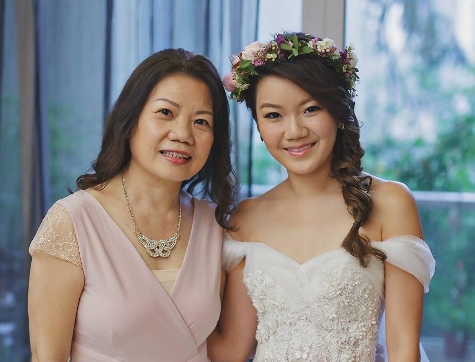 Clara and her Mom