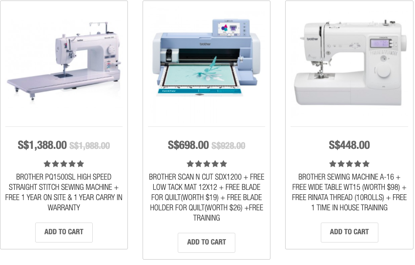picture of sewing machines smh