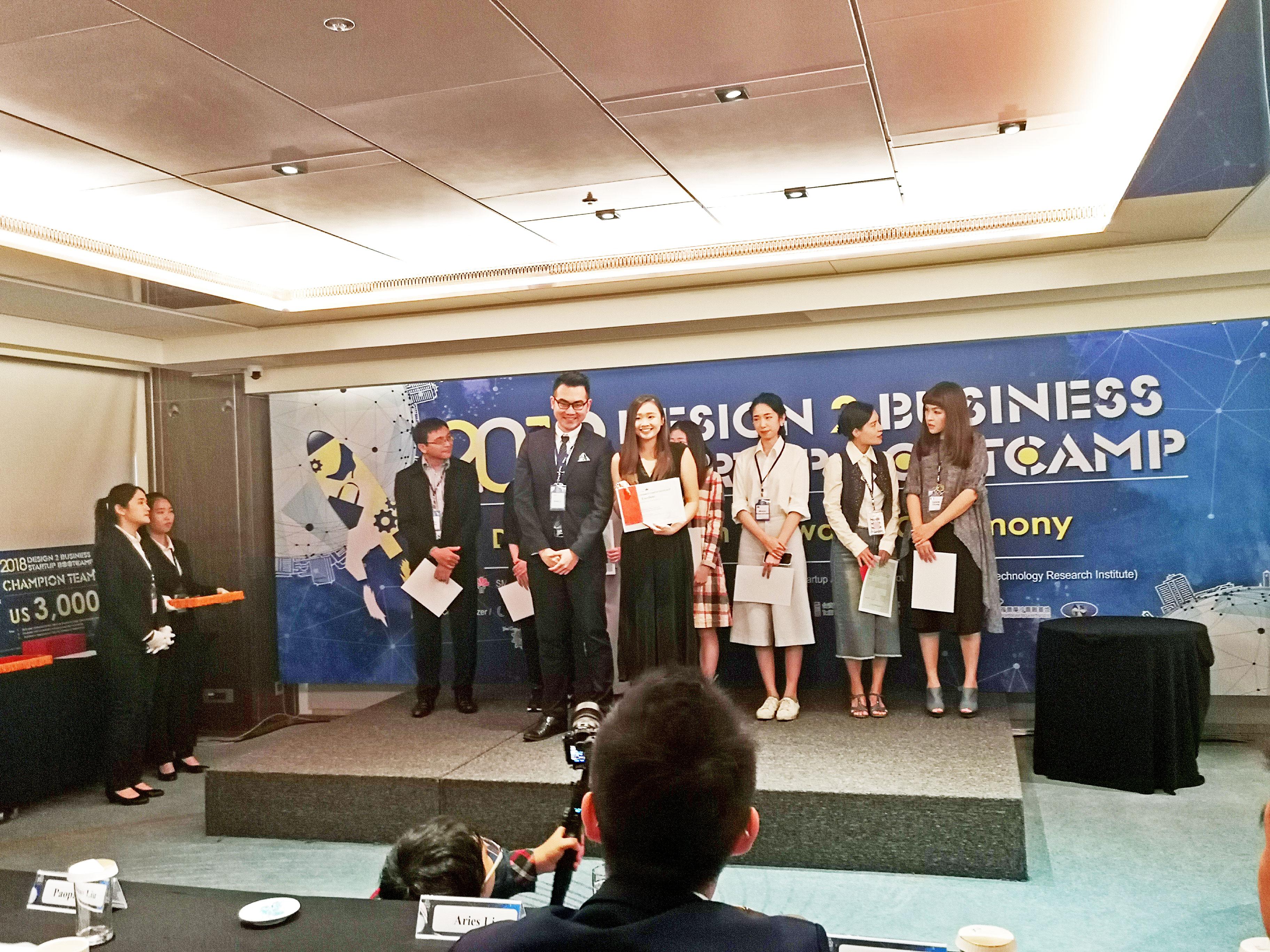 Cherre of GENA, TaF.tc's very own alumni won the excellence award
