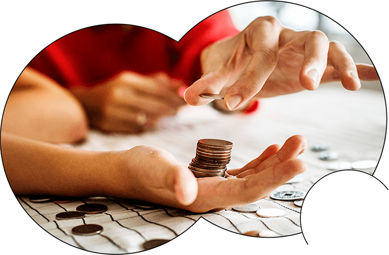 building a budget boosts  your financial wellbeing