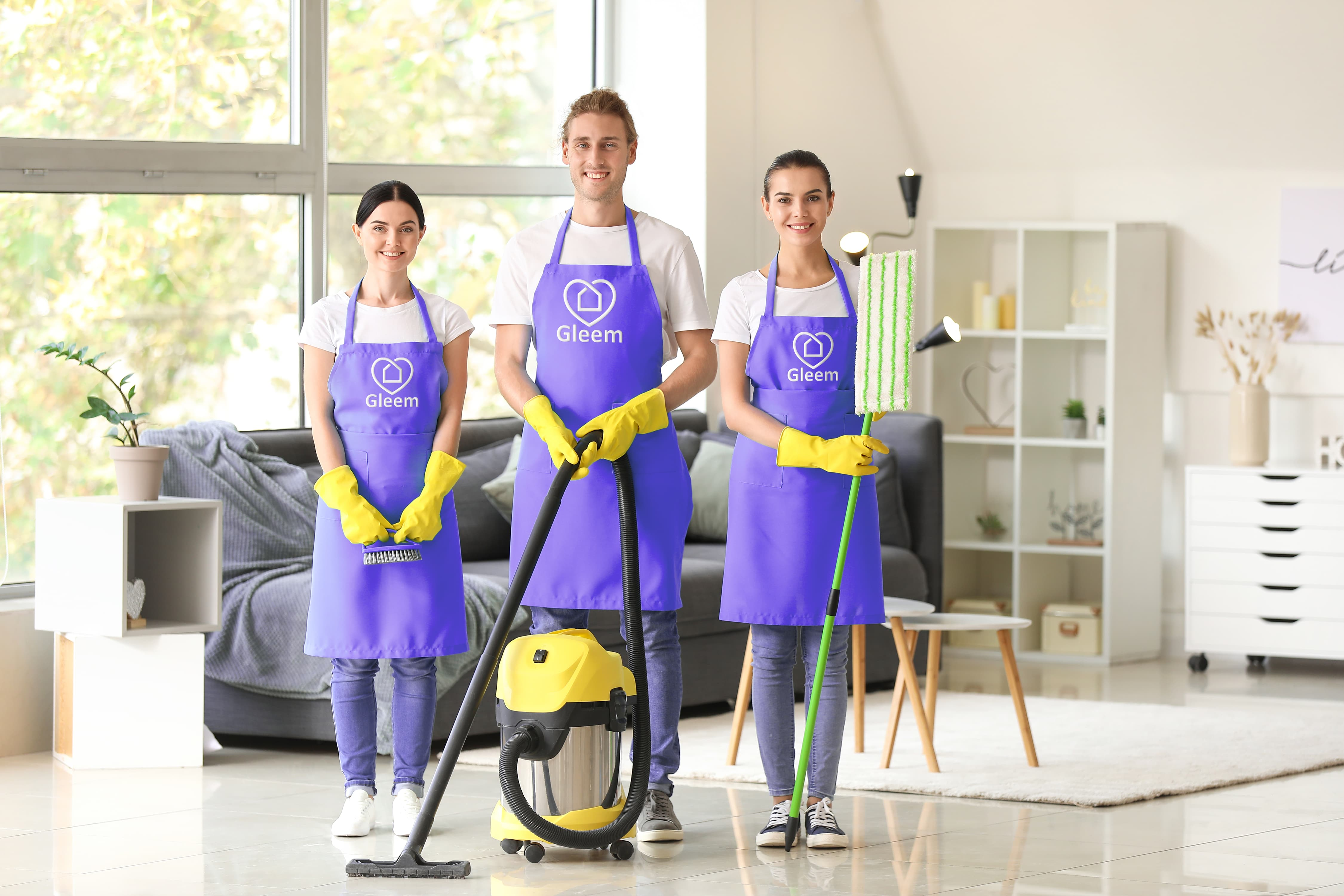 Gleem commercial cleaning