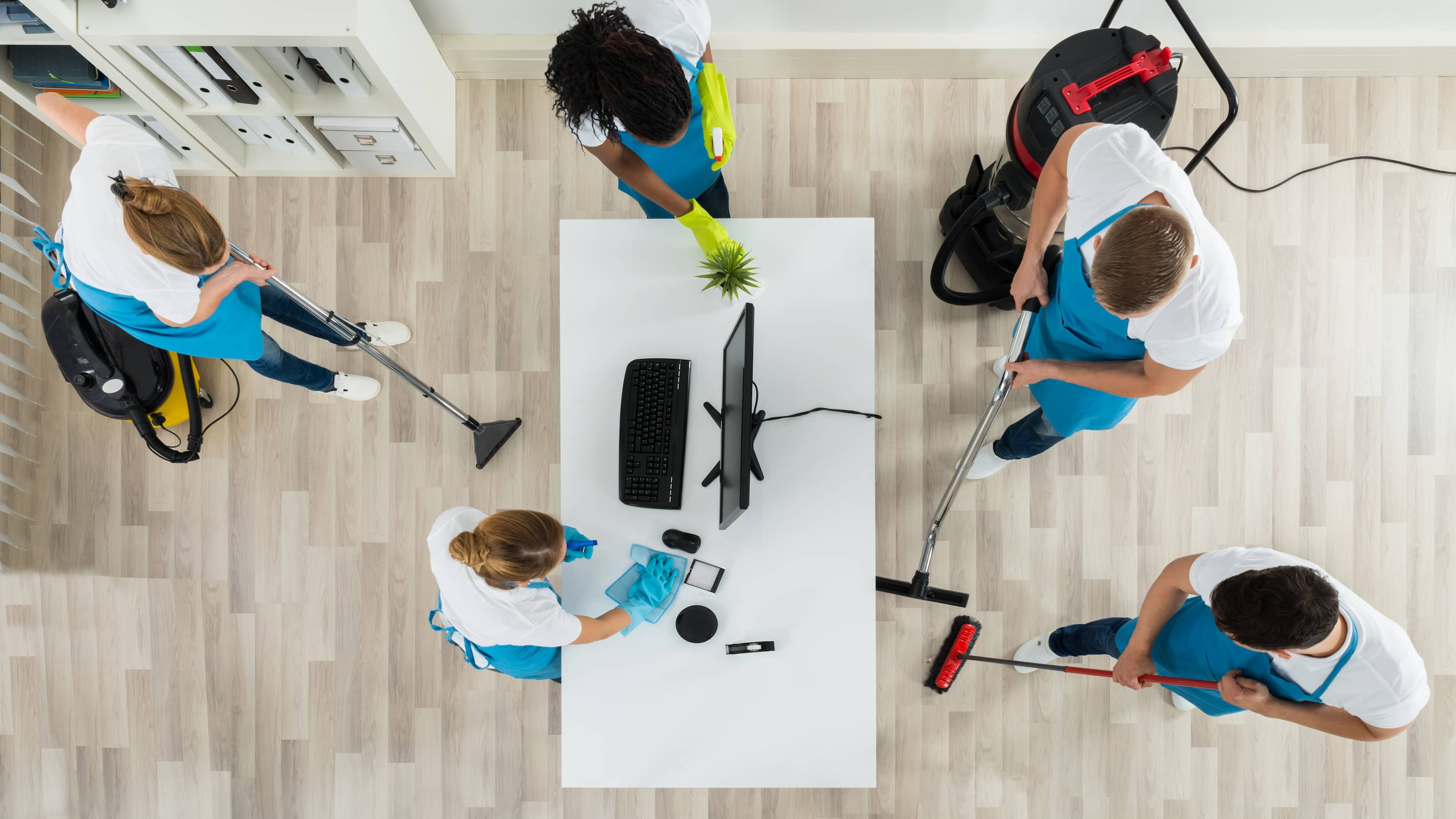 Professional cleaners will ensure that your office is clean and professional.