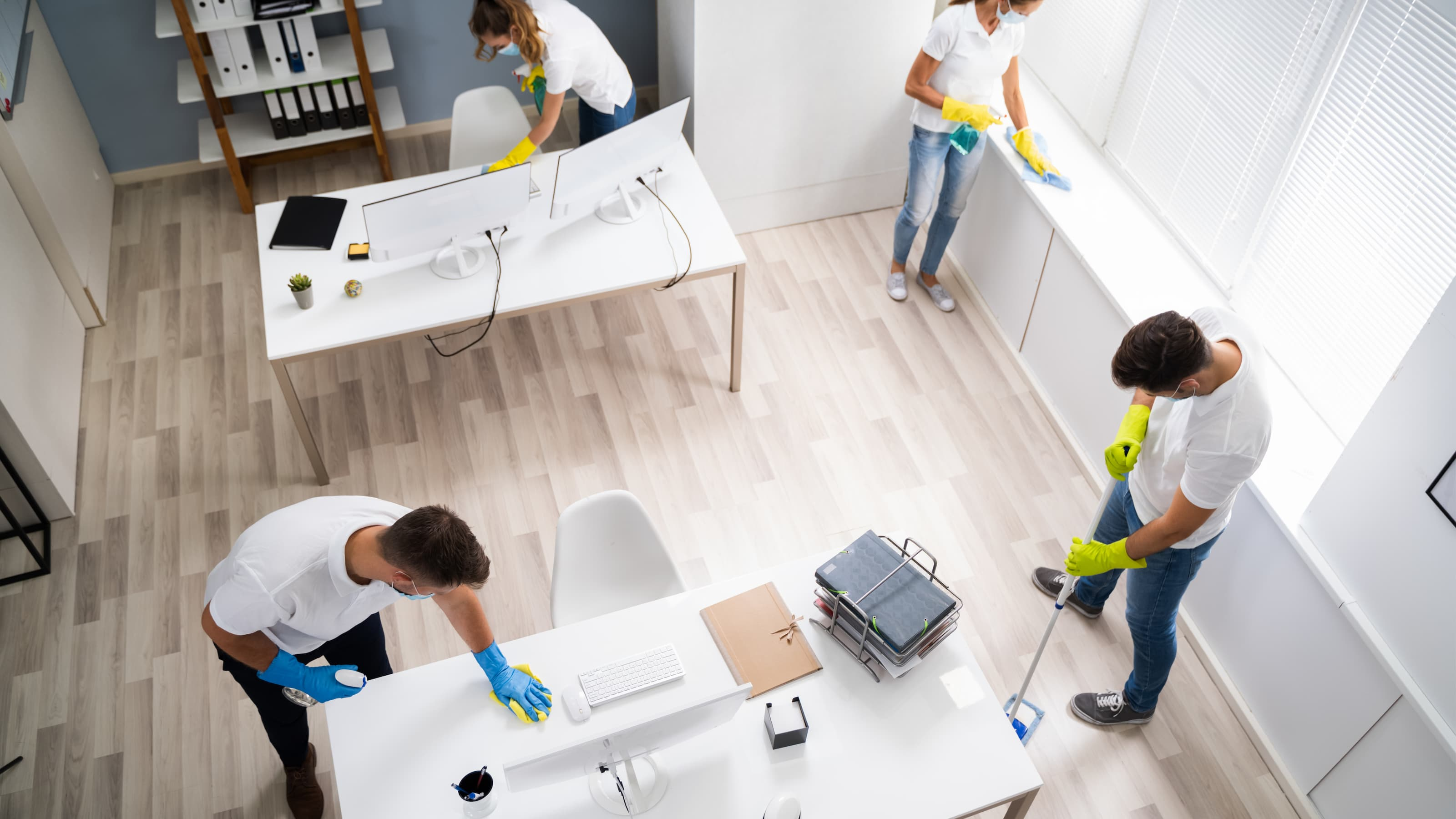 Hiring a cleaning company is not easy. You need the right team to effectively clean your office and ensure that there are no health hazards present for you or your staff.