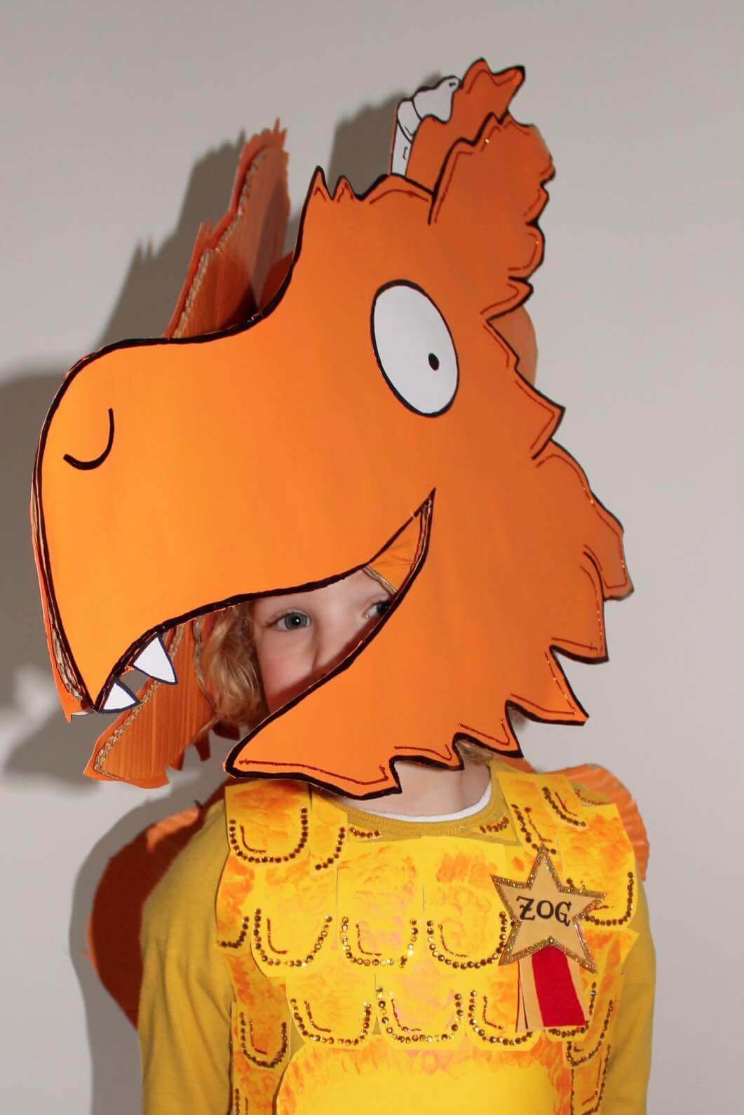 Mother of Grom - Zog Costume attaching to head