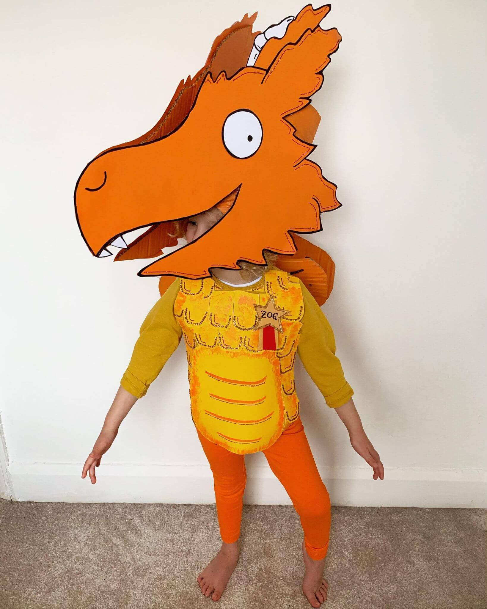 Mother of Grom - The finished Zog Costume