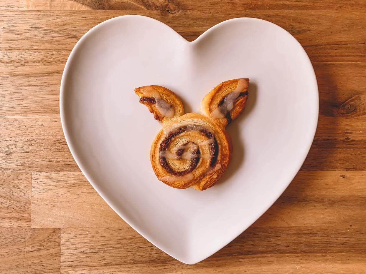 Mother of Grom - Vegan Cinnamon rolled Bunny Buns