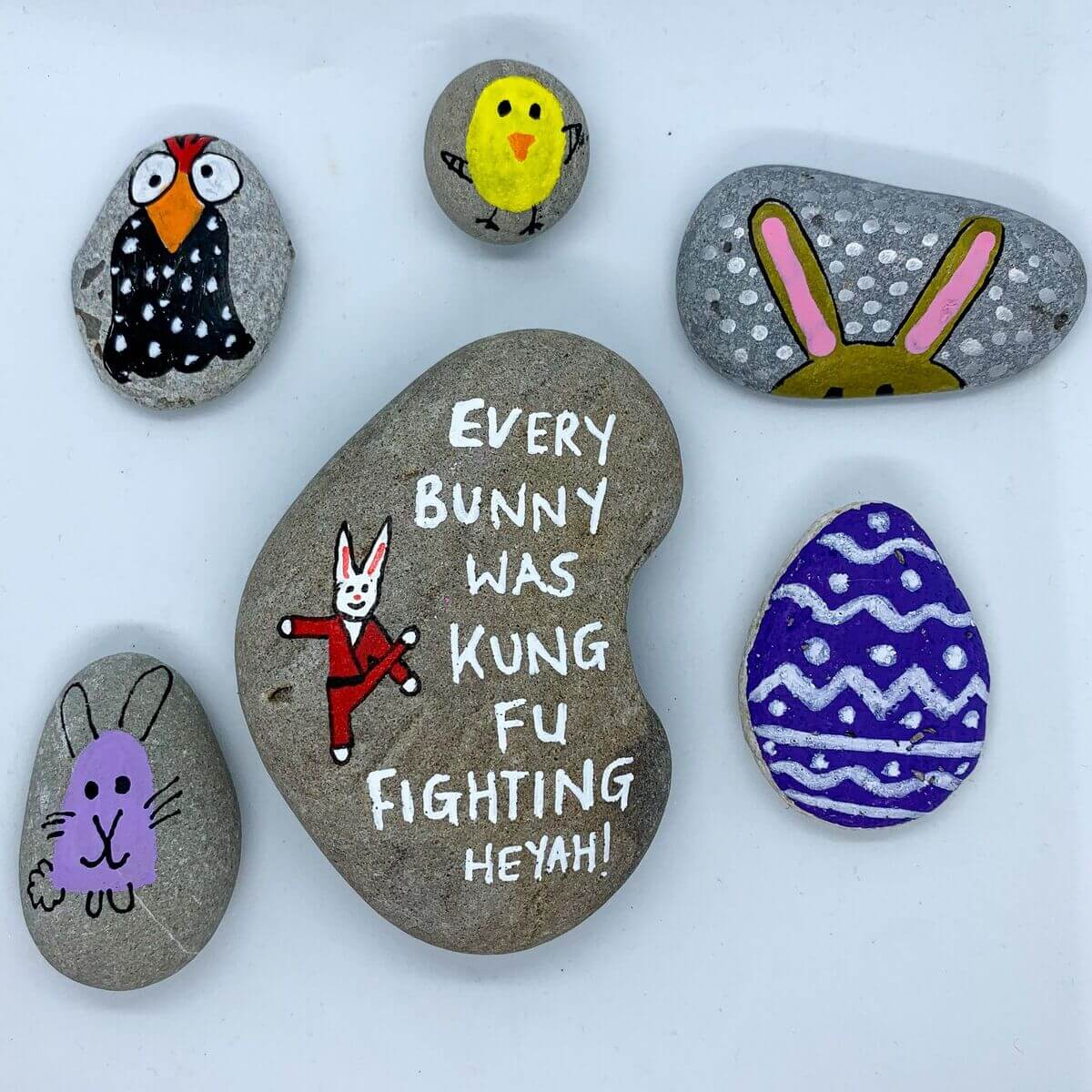 Mother of Grom - Easter Rock Paintings 4