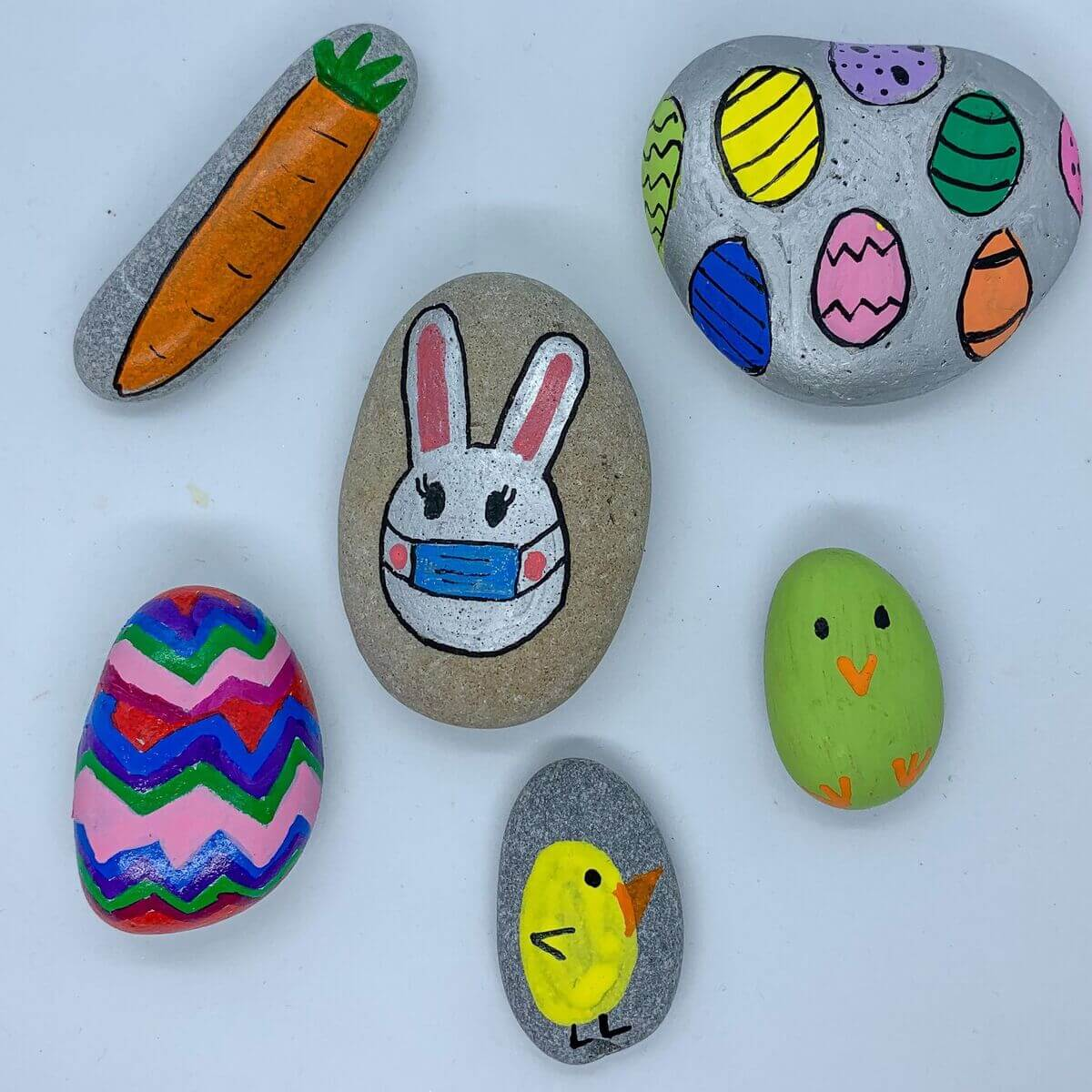 Mother of Grom - Easter Rock Paintings 6
