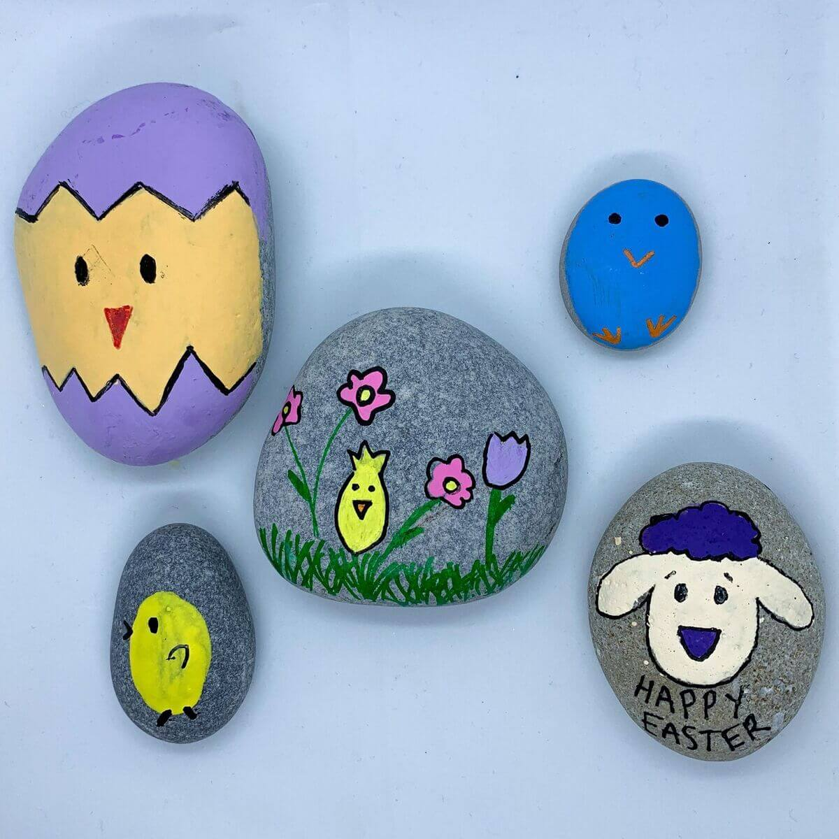 Mother of Grom - Easter Rock Paintings 7