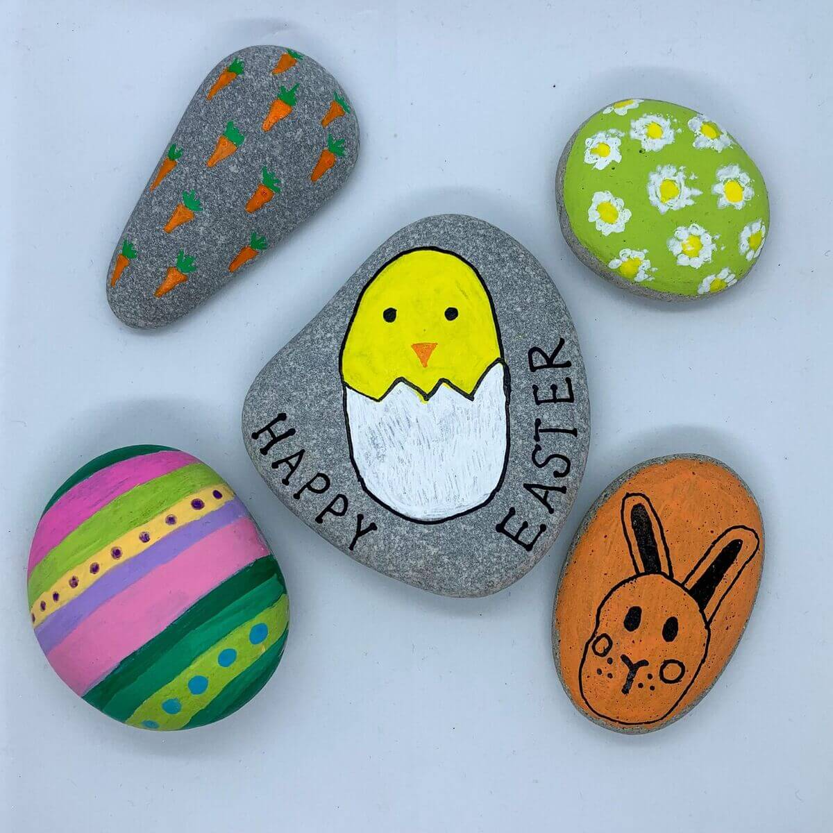 Mother of Grom - Easter Rock Paintings 8