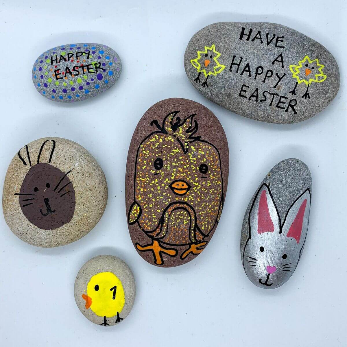 Mother of Grom - Easter Rock Paintings 9