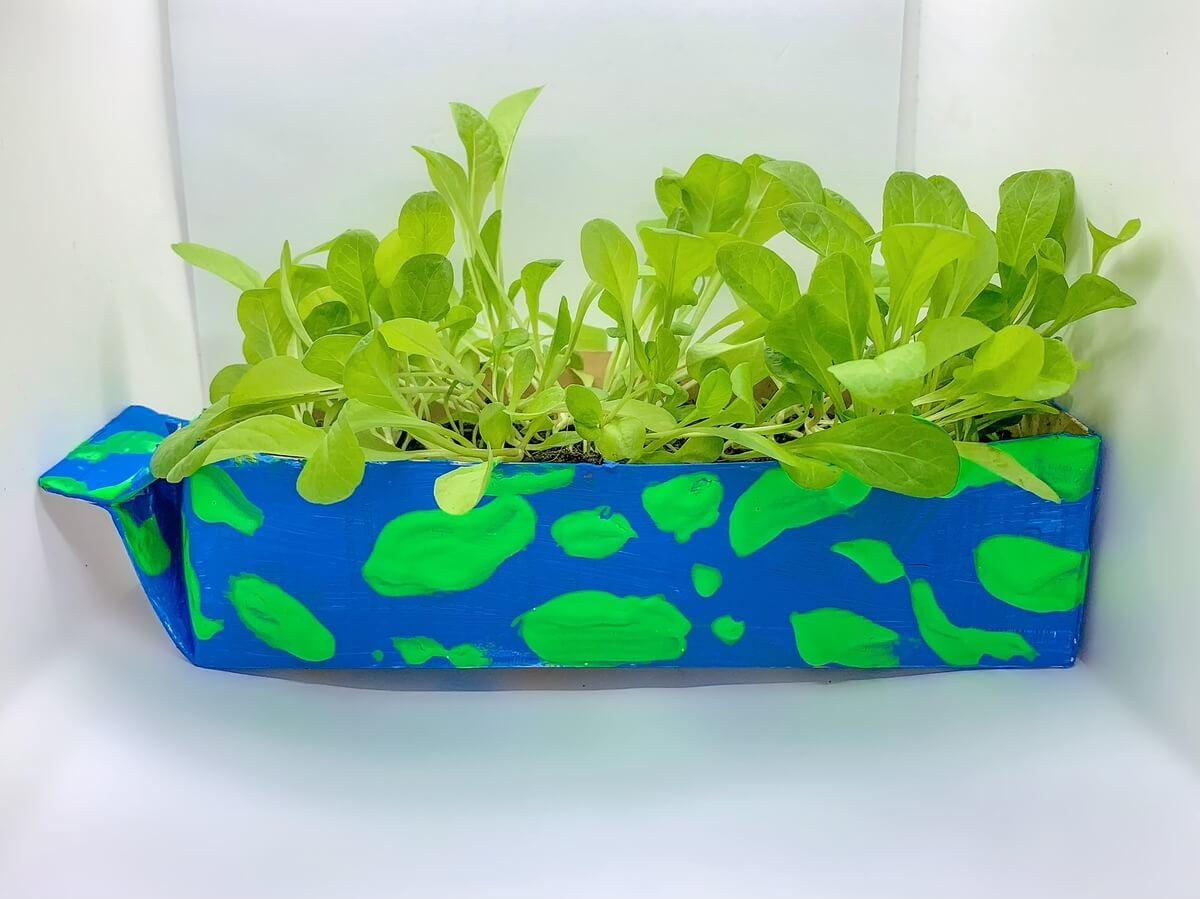 Plant-Based Milk Carton Planter - Mother Of Grom