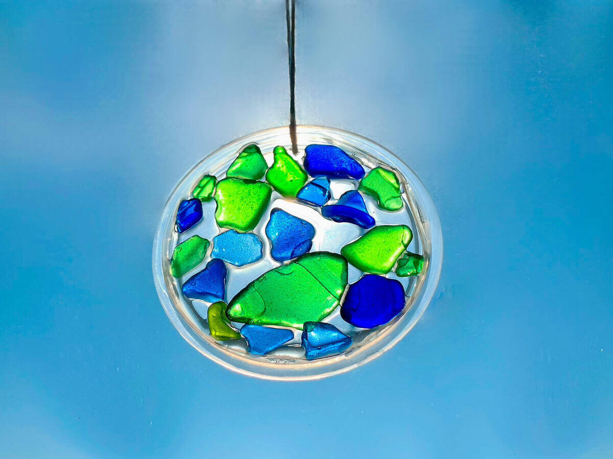 Mother of Grom - Sea Glass Sun Catchers 5