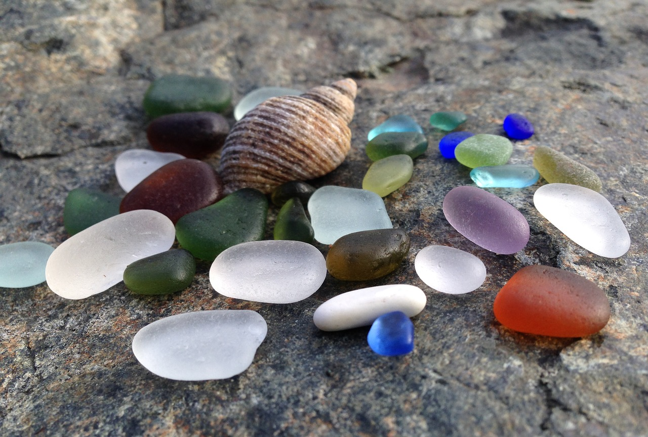 Mother of Grom - Sea Glass Sun Catchers