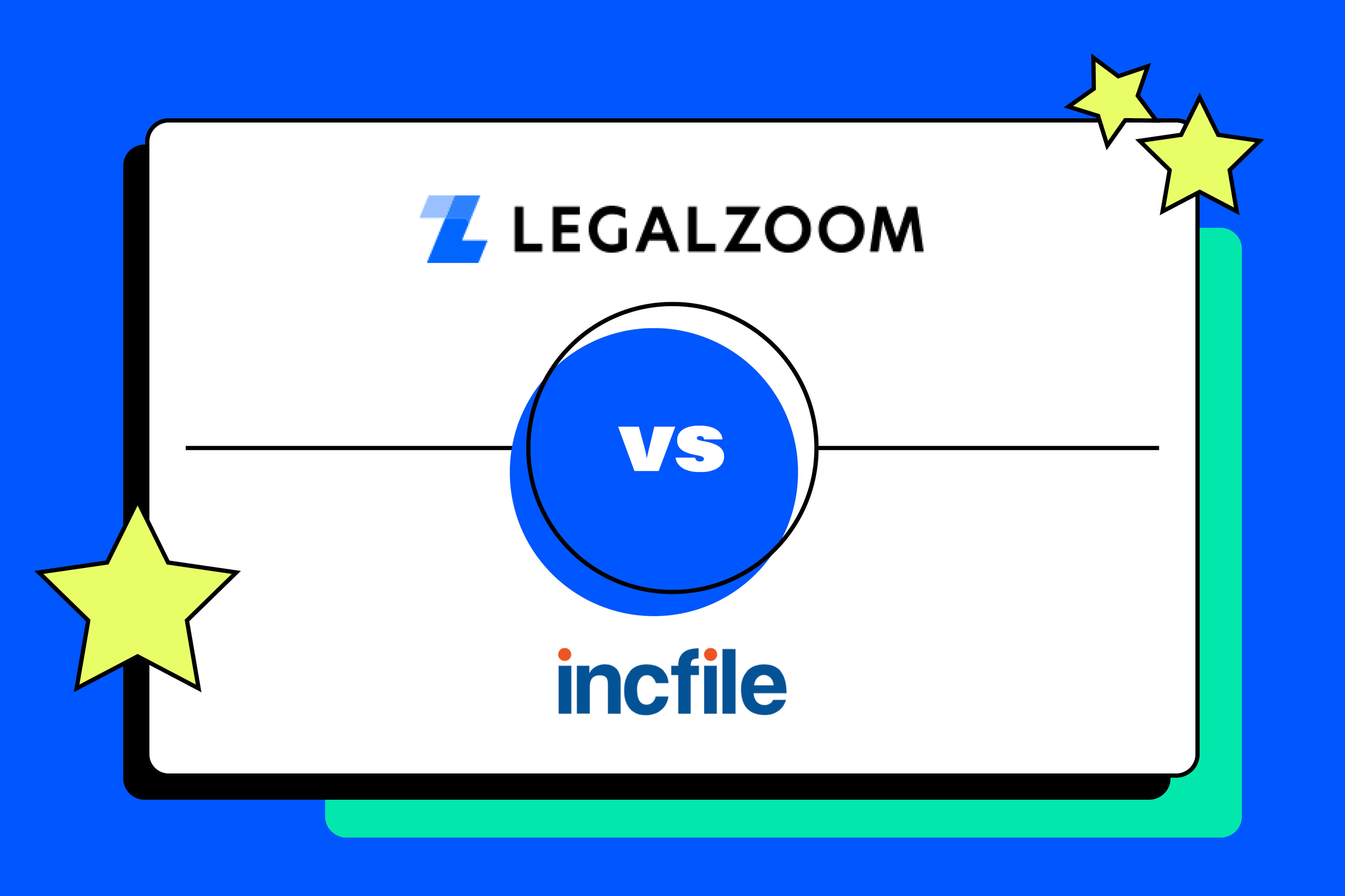 Product Review - Legal Services: LegalZoom vs. IncFile