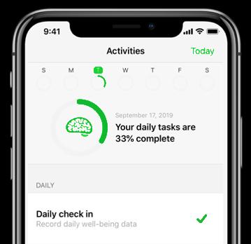 Screenshot of QC app