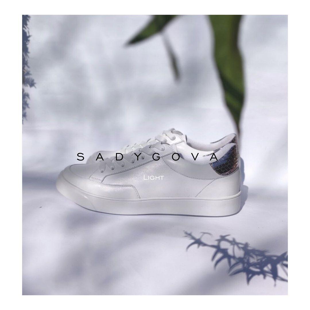 SADYGOVA light ⠀ кросівки, які вирізняються дуже легкою підошвою, спеціально розробленою, щоб гарантувати максимальний комфорт під час носіння. ⠀ Натуральна високоякісна італійська шкіра. 36-38р. ⠀ 2600грн.  #sadygovalight #sadygo...