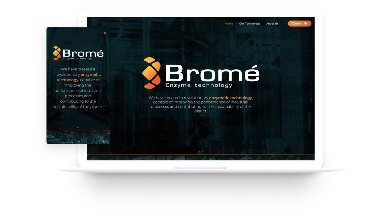 Website para Bromé Impulso Studio Costa Rica