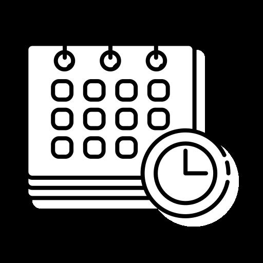 Icone d'un calendrier