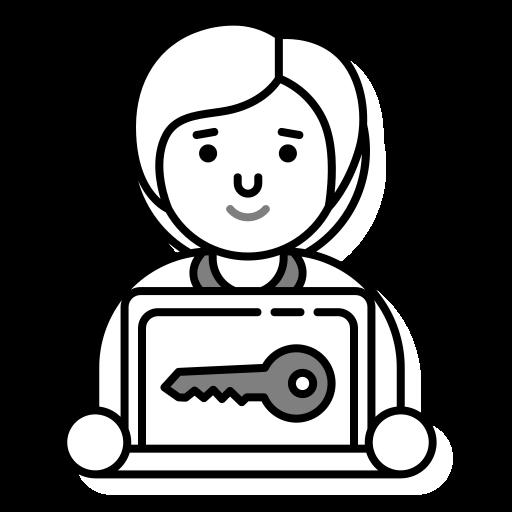 Icone représentant une connexion sécurisée