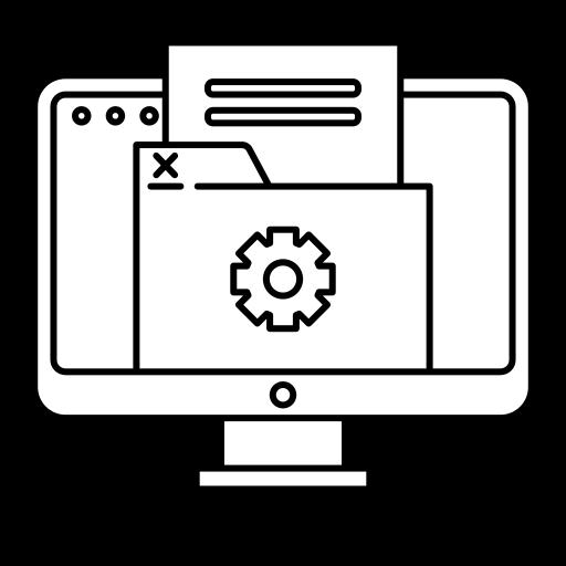 Icone centralisation de données