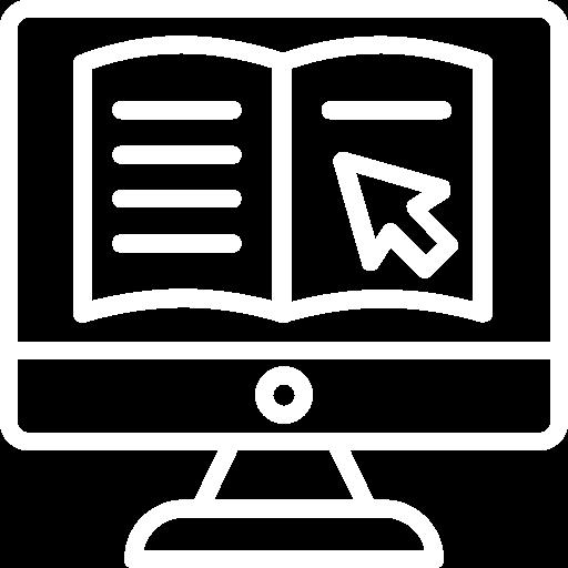 Icone représentant l'ajout d'un document en ligne.