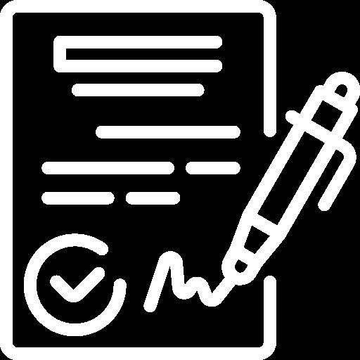 Icone représentant un fichier signé