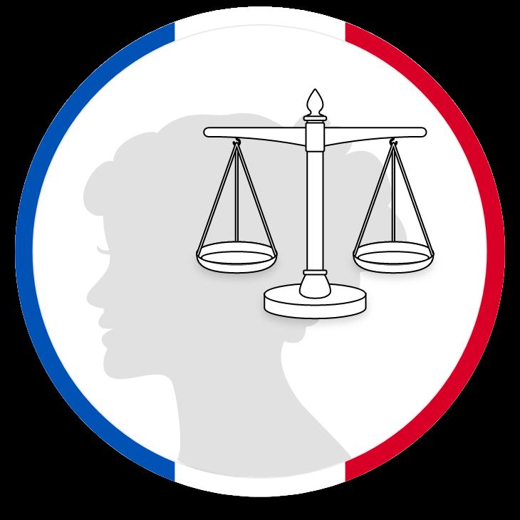 Logo représentant la justice