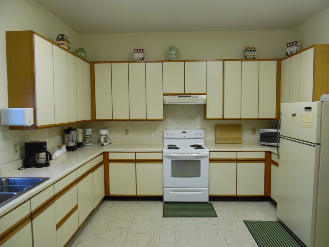Kitchen at the Turtle River Town Hall and Community Center